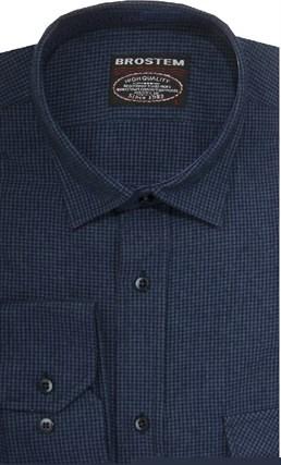 Фланелевая рубашка шерсть/хлопок Brostem 8LBR52+2 - фото 14466