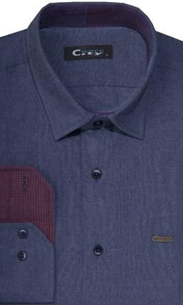 Фланелевая приталенная рубашка City Race 8LCR20+2 - фото 14467