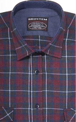 Фланелевая рубашка шерсть/хлопок Brostem 8LBR40+2 - фото 14472