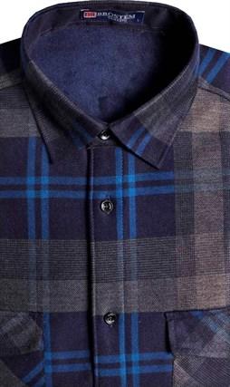 Утепленная на флисе рубашка BROSTEM 8LBR21-14 - фото 14484