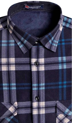 Утепленная на флисе рубашка BROSTEM 8LBR21-17 - фото 14486