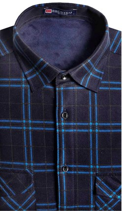 Утепленная на флисе рубашка BROSTEM 8LBR21-66 - фото 14502