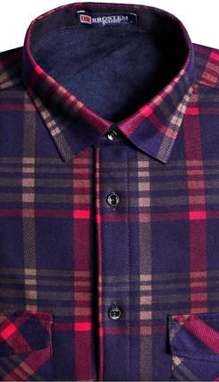 Утепленная на флисе рубашка BROSTEM 8LBR21-67 - фото 14506