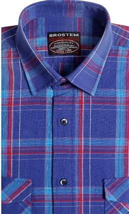 Хлопковая сорочка мужская BROSTEM 8LBR78-1 - фото 14540