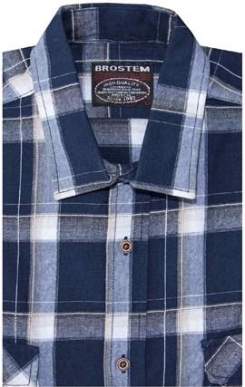 Джинсовая рубашка мужская BROSTEM 8LBR78-5 - фото 14546