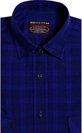 Фланелевая рубашка шерсть-хлопок BROSTEM 9LBR2-7(KA7052,8-76-7) - фото 14574
