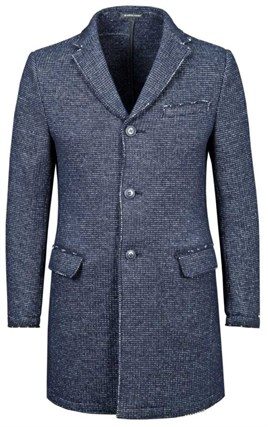 Трикотажное шерстяное пальто ДРАЙКОРН SF - фото 14643