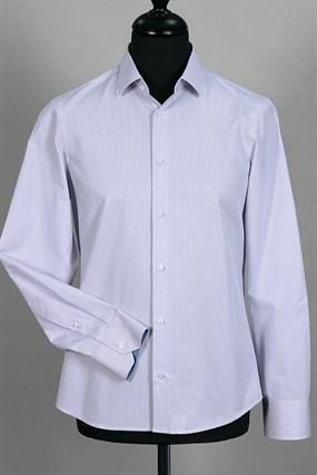 Приталенная в полоску сорочка VESTER 93814S-04 - фото 14695