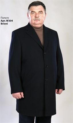 Большое зимнее пальто на утеплителе W304 - фото 14718