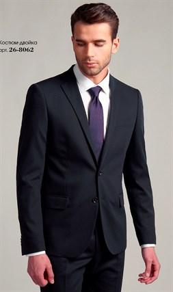 Черный оригинальный Slim Fit костюм 26-8062 - фото 14723