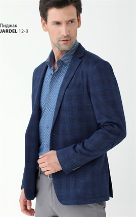 Трикотажный облегченный пиджак Slim Fit JARDEL12/3 - фото 14776