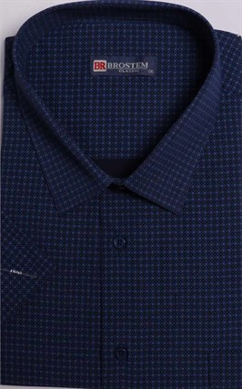 Большая рубашка с коротким рукавом 9SG5-1 - фото 14863