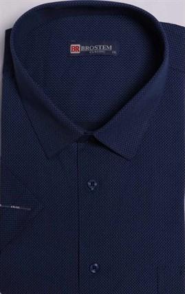Большая мужская рубашка с коротким рукавом 9SG05-2sg - фото 14865