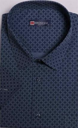 Большая мужская рубашка с коротким рукавом 9SG5-5sg - фото 14869