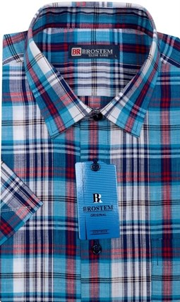 Лен хлопок большая сорочка BROSTEM LN128sg - фото 14872
