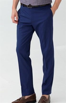 Темно синие классические мужские брюки
