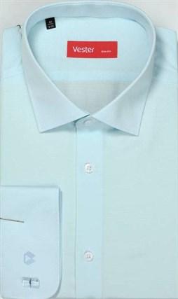 На высоких сорочка VESTER 707142-11 приталенная(Мин) - фото 15159