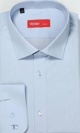 На высоких сорочка VESTER 707142-03 приталенная(Макс) - фото 15160