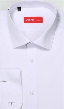 На высоких белая рубашка VESTER 707142-01 (Макс) - фото 15161