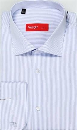 На высоких сорочка VESTER 707142-13 приталенная(Мин) - фото 15167