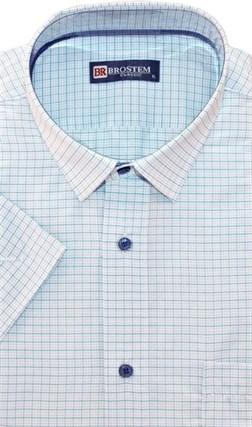 Большая мужская рубашка с коротким рукавом 8SG07-4sg - фото 15175