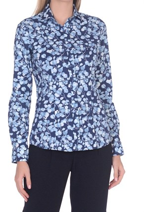 Женская хлопковая рубашка BAWER 2RY50012-01 - фото 15419