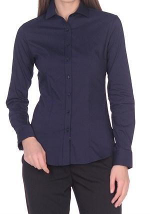 Женская хлопковая рубашка BAWER 1RYG50012-05 - фото 15429