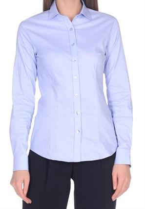 Женская хлопковая рубашка BAWER 1RYG40012-03 - фото 15441