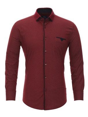 Полуприталенная рубашка Bawer RZ2112001-01 - фото 15453