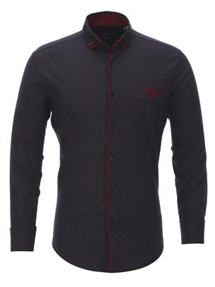 Полуприталенная рубашка Bawer RZ2112001-02 - фото 15461