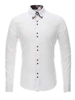 Приталенная рубашка Bawer RZ1111005-04 - фото 15547