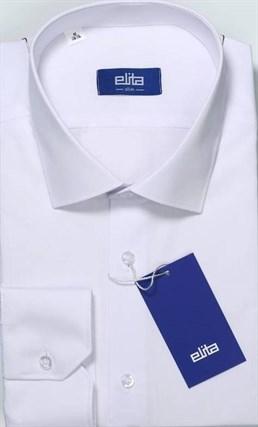 Белая приталенная сорочка