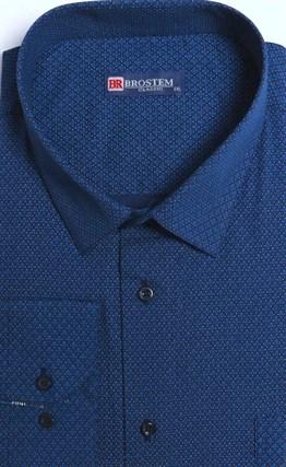 Большая стрейч рубашка 8LG93-3g BROSTEM - фото 15763