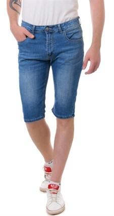 Бриджи джинсовые мужские Denim 9008 - фото 15788