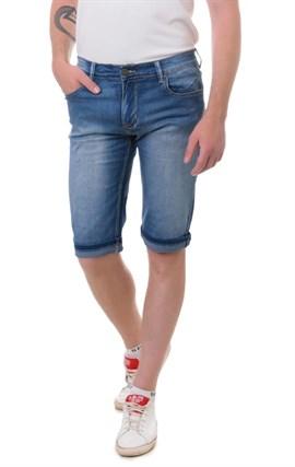 Бриджи джинсовые мужские Fing Lin FL 8166 - фото 15794