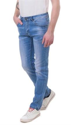 Джинсы зауженные мужские Porosus P5162 - фото 15855