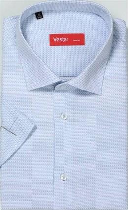 Большая р.51 сорочка короткий рукав VESTER 729141-05 - фото 15908