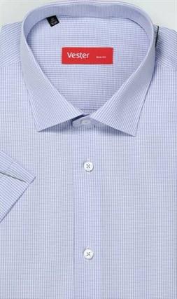 Большая сиреневая сорочка короткий рукав VESTER 729141-09 - фото 15910