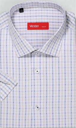 Большая сорочка короткий рукав VESTER 729141-13 - фото 15912