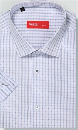 Большая сорочка короткий рукав VESTER 729141-14 - фото 15914