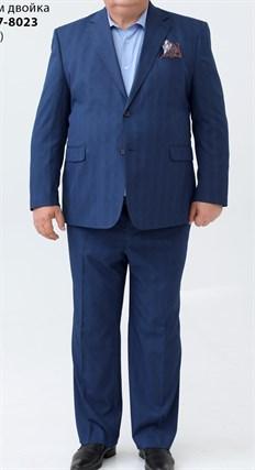 Большой мужской костюм в клетку 27-8023 - фото 15947