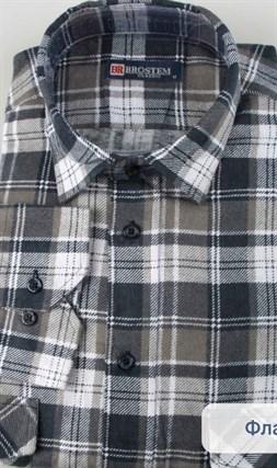 Байковая рубашка 100% хлопок BROSTEM F11313-3(F-201) - фото 16054