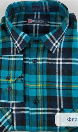 Фланелевая рубашка 100% хлопок BROSTEM F11320-4 - фото 16062