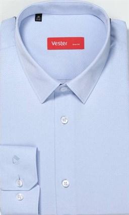 Рубашка приталенная мужская VESTER 70714-10-19 - фото 16109