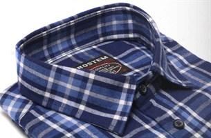 Большая фланелевая рубашка BROSTEM KA5062g - фото 16143