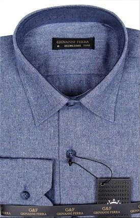Фланелевая рубашка шерсть/хлопок AY 795-1 - фото 16148