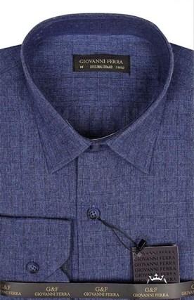Фланелевая рубашка шерсть/хлопок AY 895-1 - фото 16152