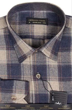 Фланелевая рубашка шерсть/хлопок AS 540-6 - фото 16160