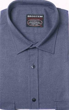Фланелевая рубашка шерсть/хлопок Brostem KA2203-9 - фото 16162