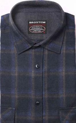 Фланелевая рубашка хлопок/шерсть BROSTEM KA7 - фото 16193